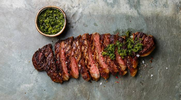 Bavette Steak with Chimichurri