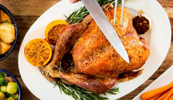 Parson's Perfectly cooked Christmas Turkey