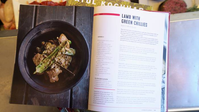 Atul Kocchar's Lamb with Green Chillies