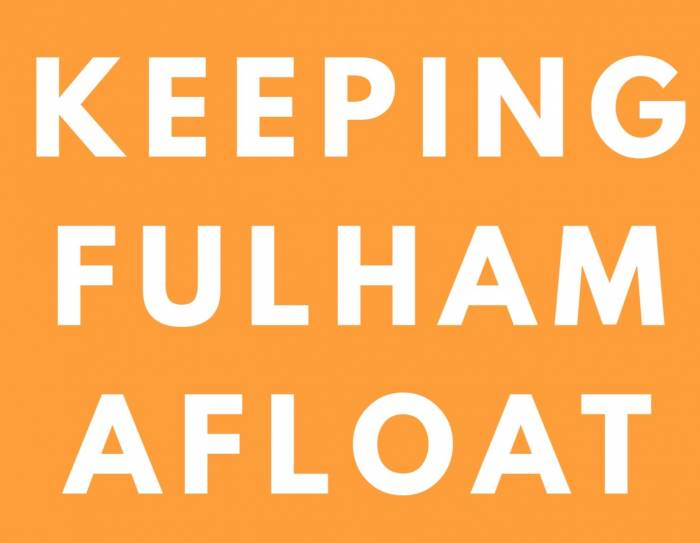 Appreciating community in the midst of  a global pandemic, Keeping Fulham Afloat